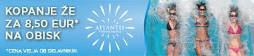 Atlantis - Kopanje že za 8,50 EUR